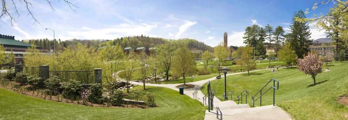 Durham Park on a sunny day